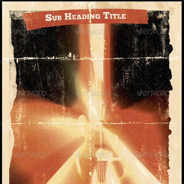 Grindhouse Theatre - Poster Template