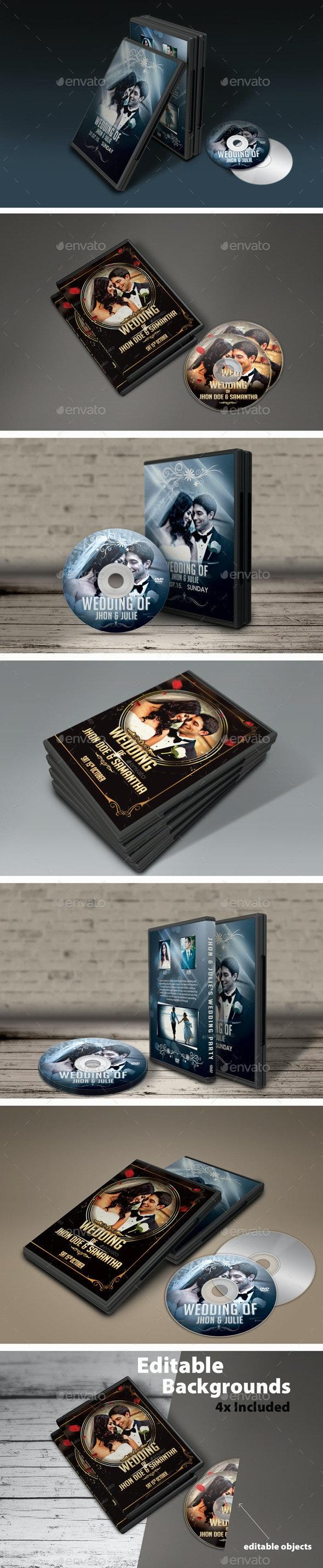 DVD Cover Mock-Ups - Discs Packaging