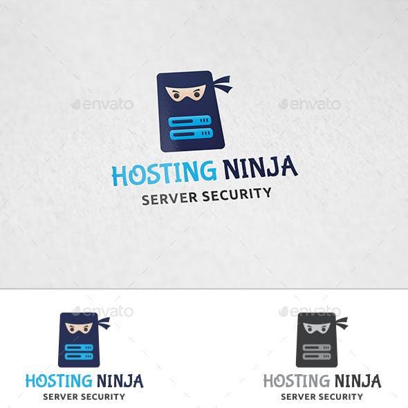 Hosting Ninja - Logo Template