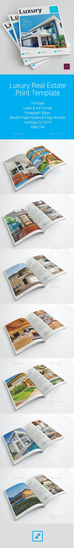 Luxury Real Estate Brochure - Informational Brochures