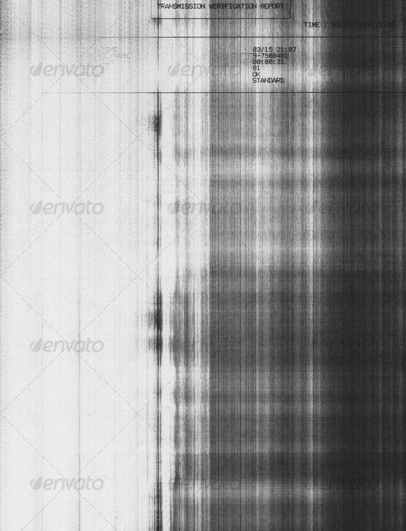 GRUNGE FAX LINES - Industrial / Grunge Textures
