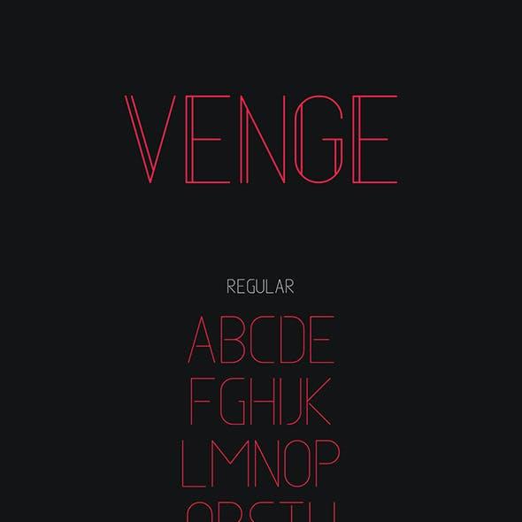 Venge Typeface