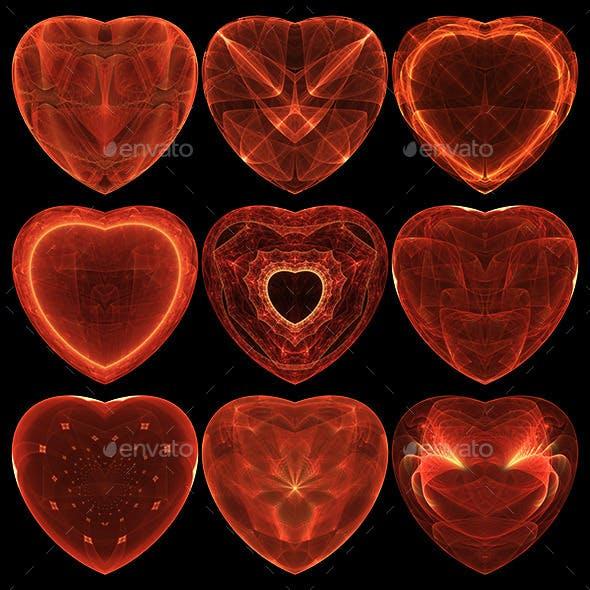 Decorative Hearts Vol1