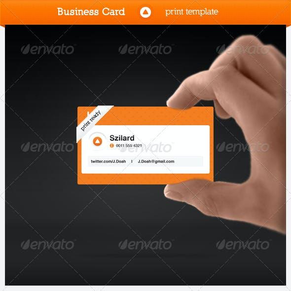Tweetcard