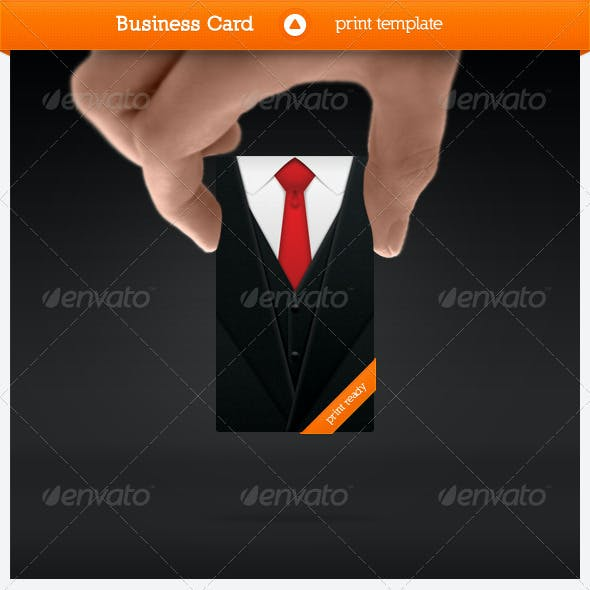Suited Business Card