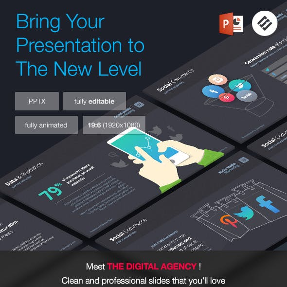 The Digital Agency - Powerpoint Template