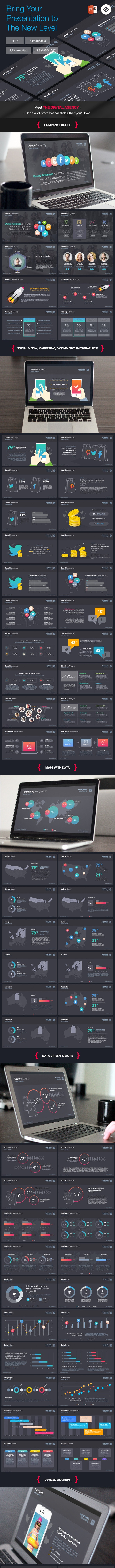 The Digital Agency - Powerpoint Template - PowerPoint Templates Presentation Templates