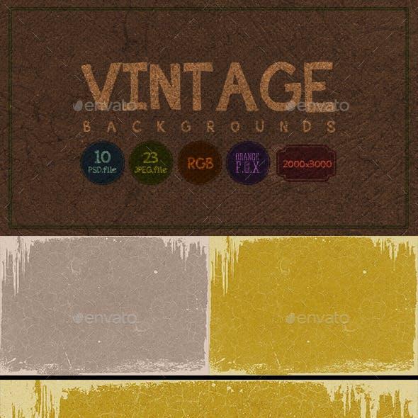 23 Vintage Backgrounds