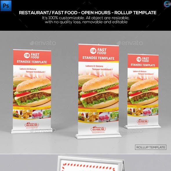 Standee Graphics, Designs & Templates from GraphicRiver