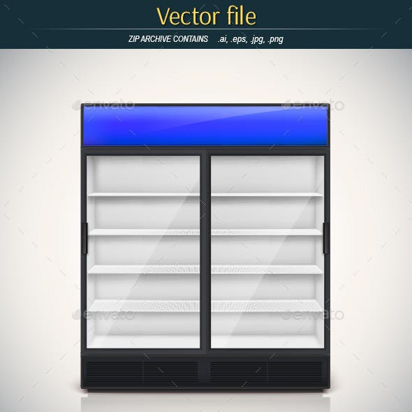 Empty Vector Freezer