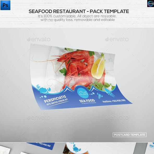 Seafood Restaurant - Pack Template