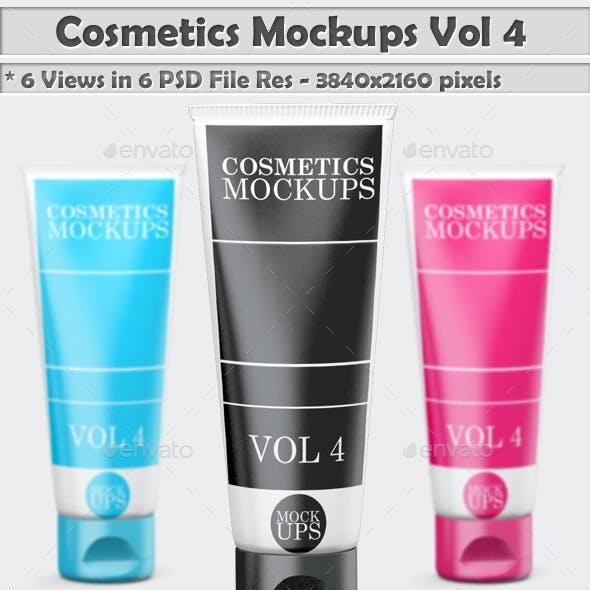 Cosmetics Mockup Vol 4