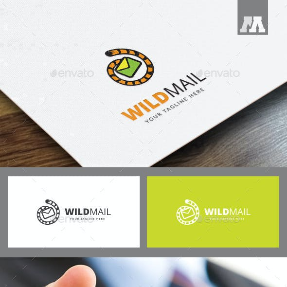 Wild Mail Logo Template