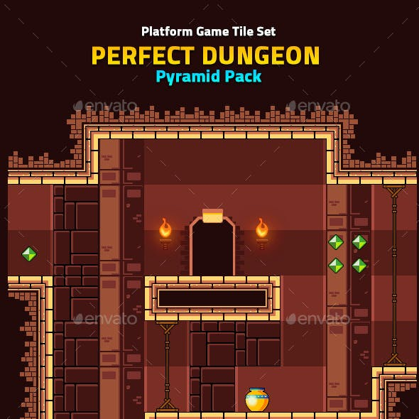 Perfect Dungeon Tile Set Pyramid Pack