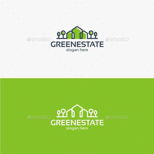 Green Estate - Logo Template