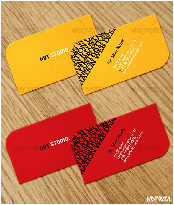 Hot Business Card - Creative Business Cards