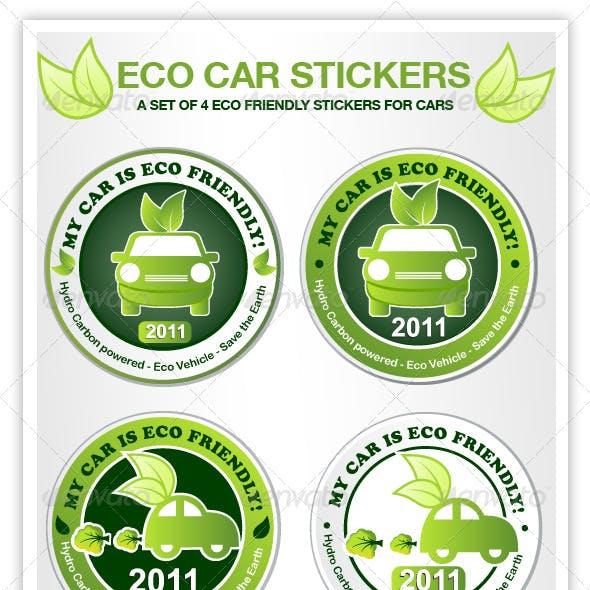 Eco Car Stickers