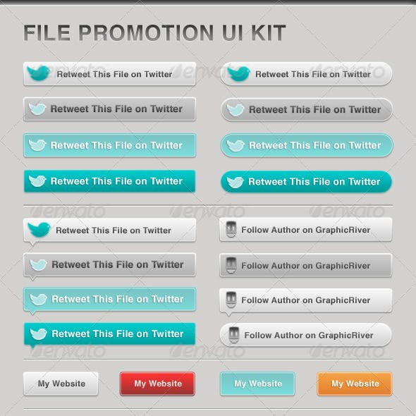 File Promotion UI Kit