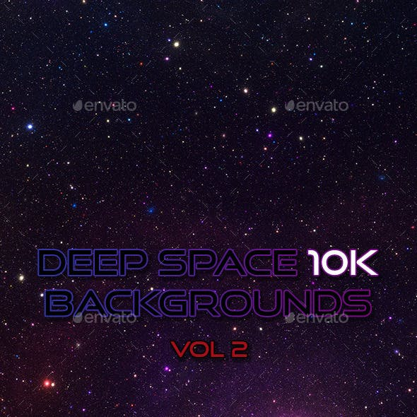 Deep Space 10K Backgrounds Vol2