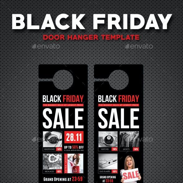 Black Friday Door Hanger