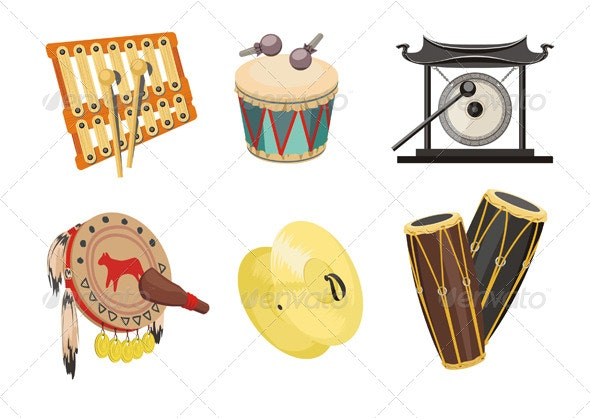 Music, Drums - Man-made Objects Objects