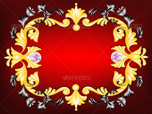 Ornamental frame  - Borders Decorative