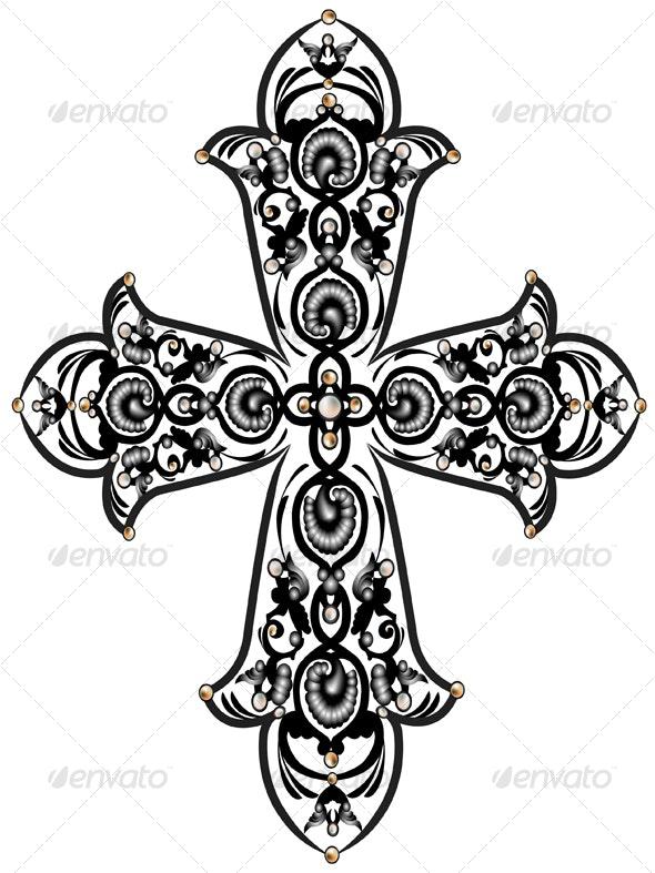 Cross - Objects Vectors