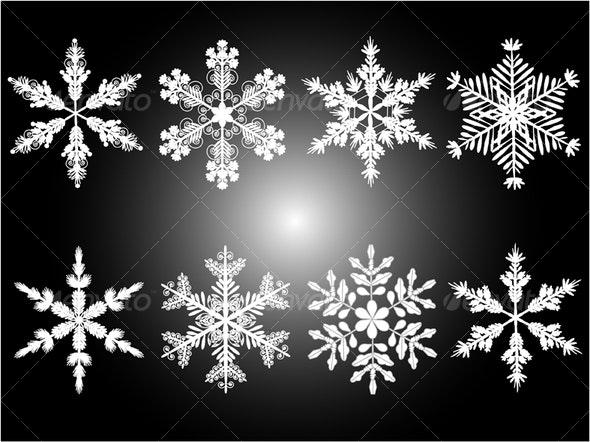 Snowflakes  - Miscellaneous Seasons/Holidays