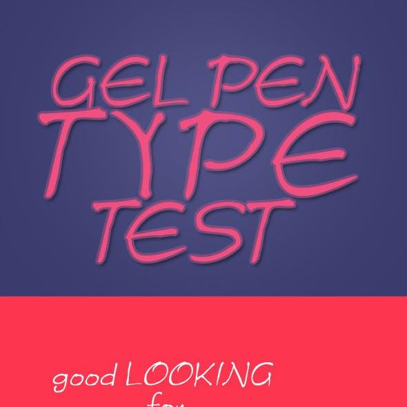 Gel Pen Types