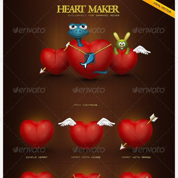 Great Heart Maker Pack