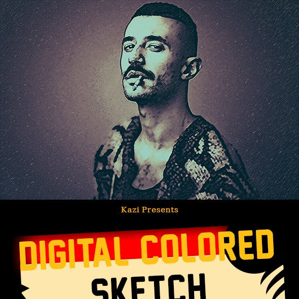 Digital Colored Sketch