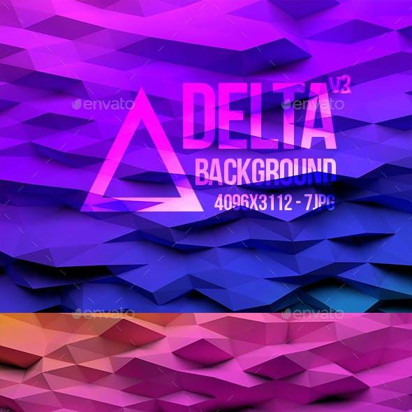 Delta - 7 LowPoly Background v3