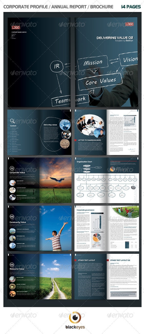 Unique Annual Report / Brochure - Corporate Brochures