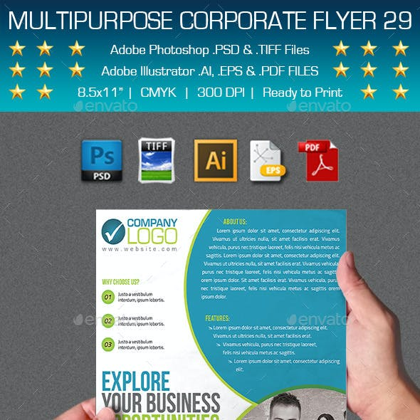 Multipurpose Corporate Flyer 29