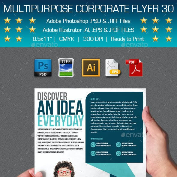 Multipurpose Corporate Flyer 30
