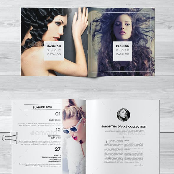 Fashion Square Universal Brochure / Catalog