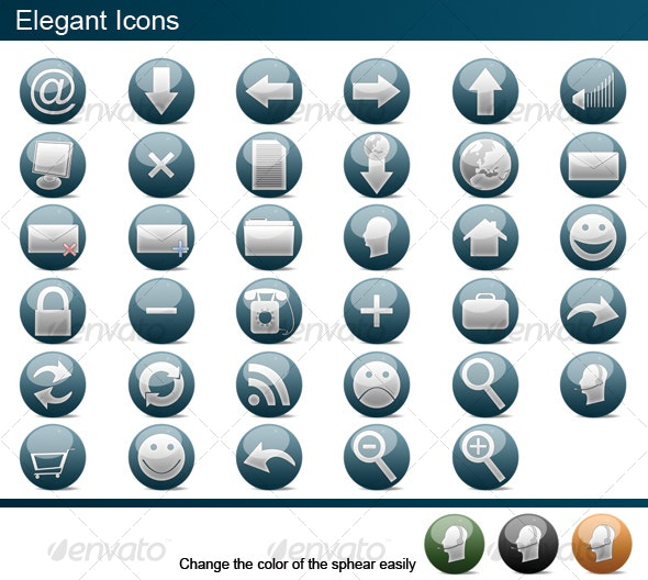 Elegant Icons - Web Icons