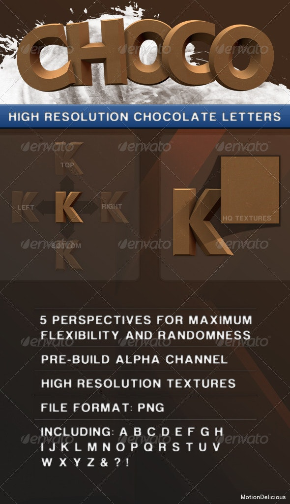 Choco Letters - Miscellaneous Graphics
