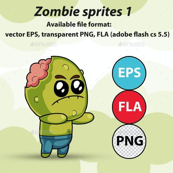 Zombie - Game Sprites 1