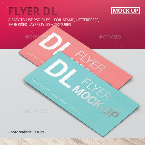Flyer DL Mock-Ups
