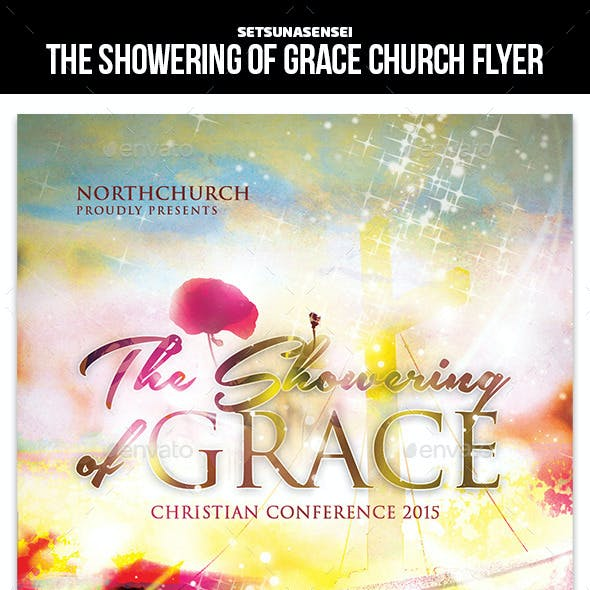 The Showering of Grace Church Flyer