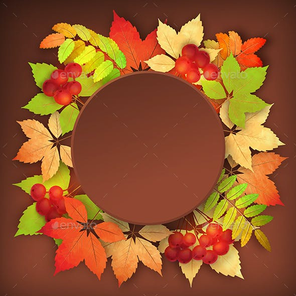 Autumn Vector Fall Leaves Background