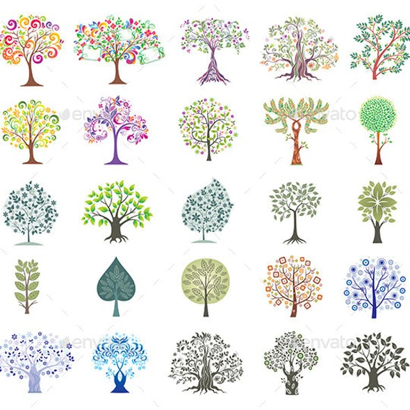 Set of Colorful Trees.