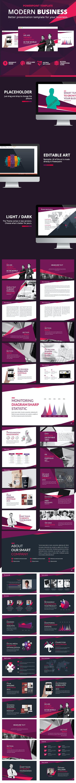 Modern Business Presentation - Business PowerPoint Templates