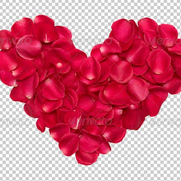 Rose Heart Petals