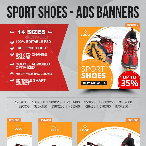 Sport Shoes - ADS Banner