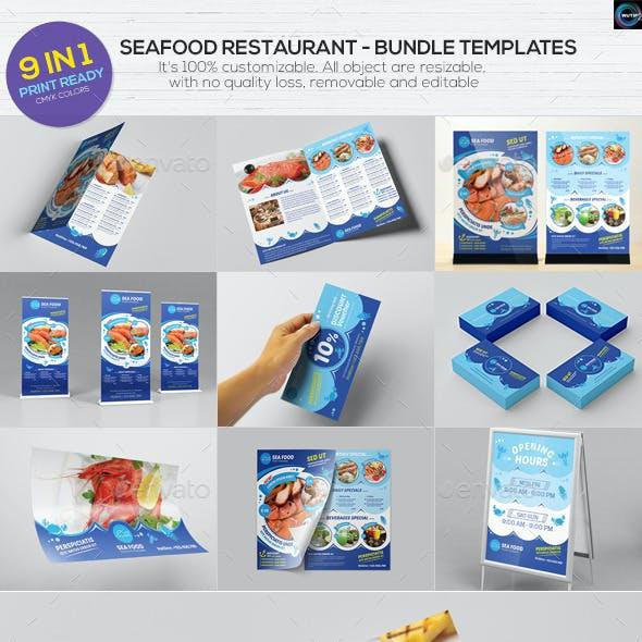Seafood Restaurant - Bundle Templates