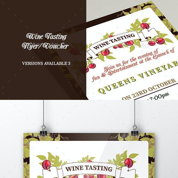 Wine Tasting Flyer/Poster