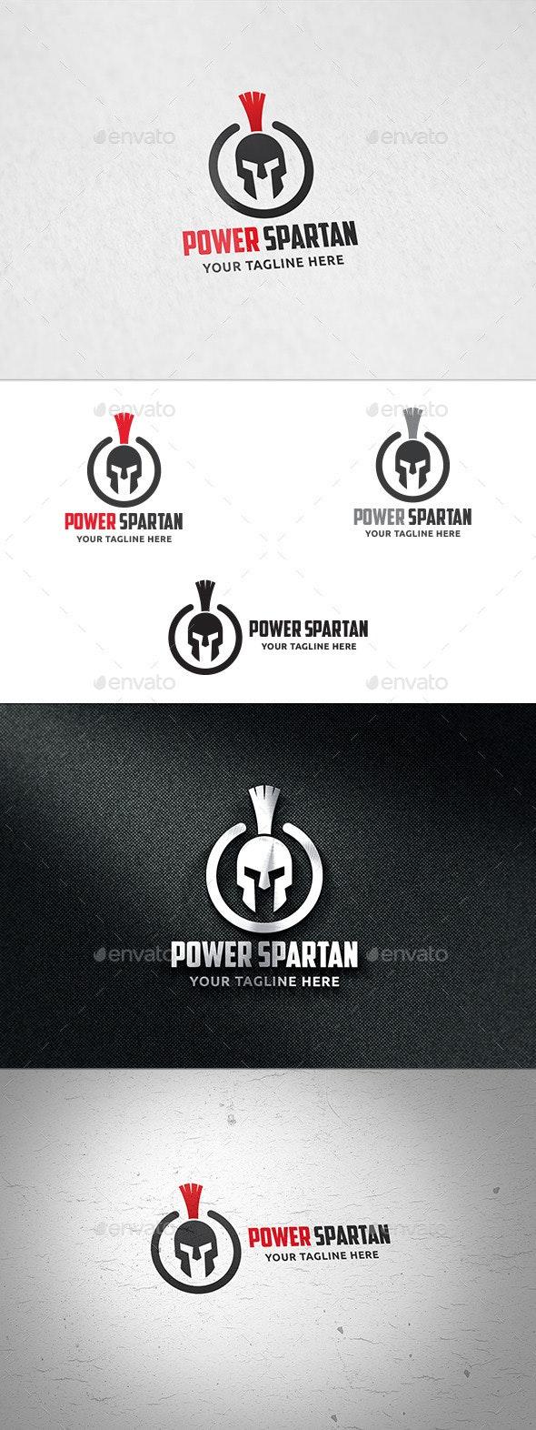 Power Spartan - Logo Template - Symbols Logo Templates