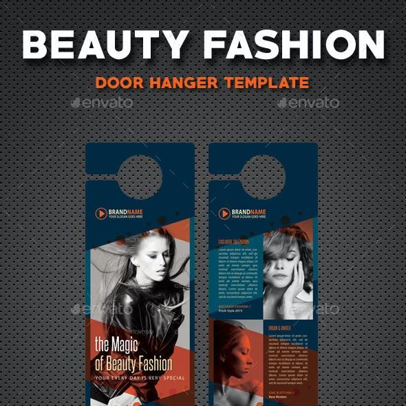 Beauty Fashion Door Hanger V3